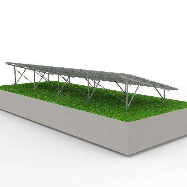 solar panel mount ground