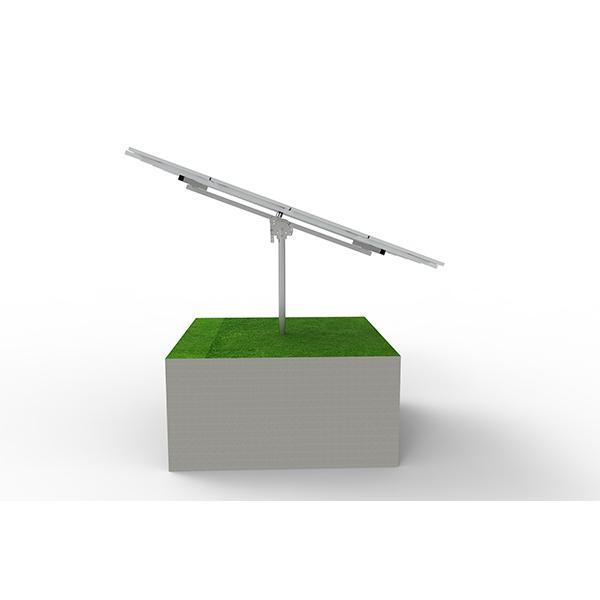 rotating solar panel mount