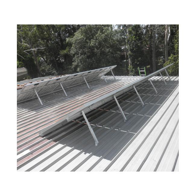 Adjustable Tilt Solar Racking System