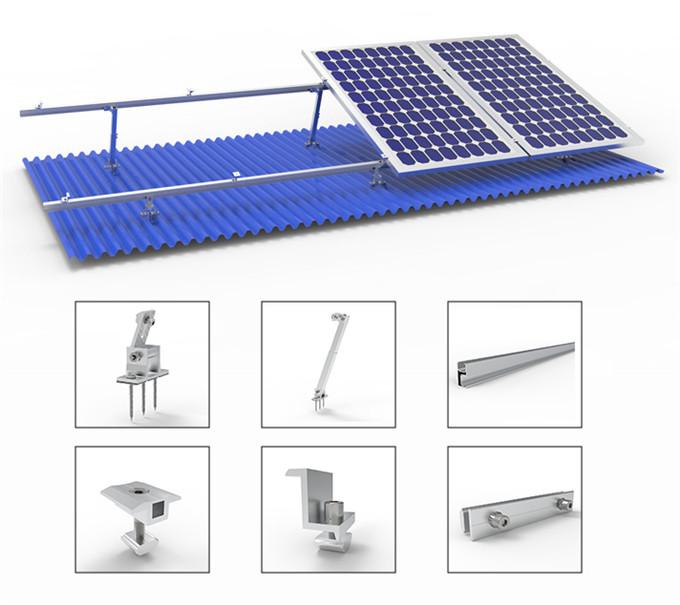 Solar Flat Roof Mount System