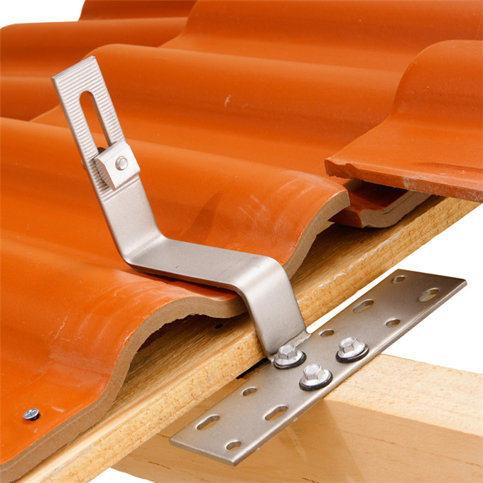poland roof adjustable solar tile hook of panel