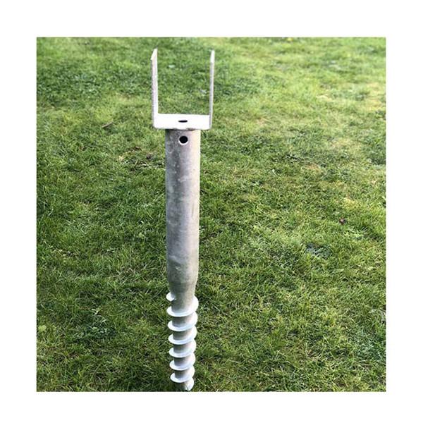 Galvanized Ground Screw