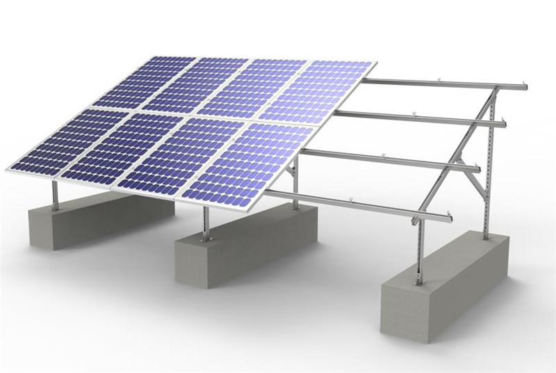 solar steel mounting farm